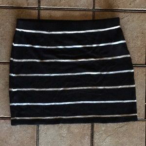 Striped Skirt from F21